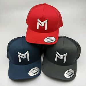 Discraft Paul McBeth Trucker Hat | CHOOSE YOUR COLOR | Snapback PM Logo.
