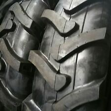(2-Tires) 14.9-24 10 PLY R4 Rear Backhoe Industrial Tractor TIRES+TUBES 14.9x24