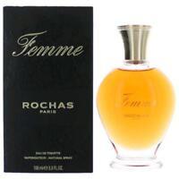 Femme Perfume by Rochas, 3.4 oz EDT Spray for Women NEW