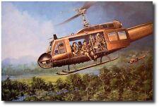 Magic Carpet Ride by Joe Kline - UH-1C Huey - Helicopter Art Prints