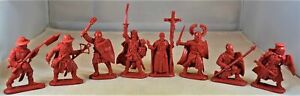 Chintoys Teutonic Knights Medieval Crusaders Red