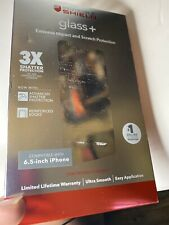 New ZAGG - InvisibleShield HD Glass+ Screen Protector for iPhone® XR - Clear