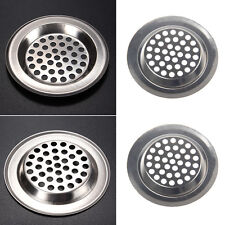 2x Stainless Steel Mesh Sink Strainer for Kitchen Trap
