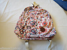 Roxy Girls juniors book bag back pack bookbag surf skate Multi floral hrt NEW*^