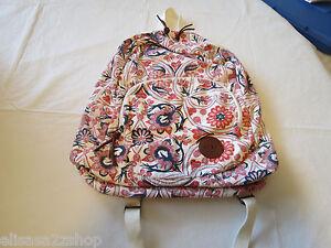 Roxy Girls juniors book bag back pack bookbag surf skate Multi floral hrt NEW *^