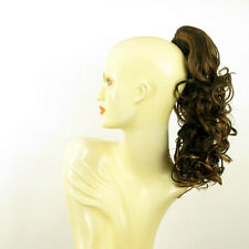 Hairpiece ponytail curly chocolate copper wick 15.75 ref 3/627c peruk