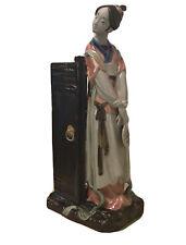 Asian Porcelain Figurine 13� Tall
