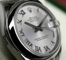 Rolex DATEJUST 178240 Midsize Stainless Steel Oyster Silver Roman Dial 31MM