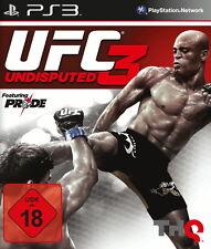 PS3 / Sony Playstation 3 Spiel - UFC Undisputed 3 (mit OVP) (USK18) (PAL)