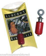 AUDUBON BIRD CALL birchwood & pewter instrument USA made birding whistle songs