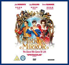 MIRROR MIRROR - Julia Roberts &  Lily Collins **BRAND NEW DVD**