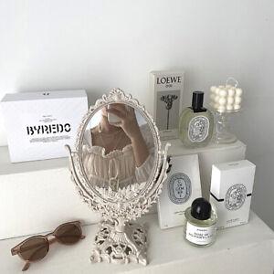 Nordic Makeup Mirror Ins Vintage Mirror Plastic Cosmetic Mirror Room Home De*wk