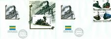 TRAINS CLASSIC STEAM LOCOMOTIVES RAILWAYS TRANSPORT FIRST DAY COVERS SET FDC