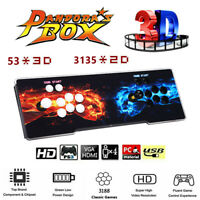 Pandora's Box 3188 in 1 Video Games 4Players Arcade Console VGA For Laptop TV PC