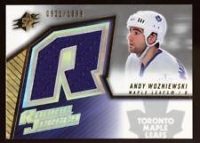 2005 SPX Hockey Jersey RELIC Andy Wozniewski 921/1999