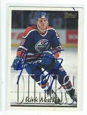 Kirk Maltby Signed 1995/96 Topps Card #133