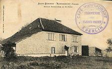 88 SAINT-ETIENNE-LES-REMIREMONT CARTE POSTALE MAISON FORESTIERE EBERLIN
