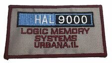 2001 Space Odyssey Hal 9000  Logic Memory Systems 4 Inch Wide Iron On Patch
