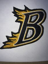 "2"" Letter B Embroidered Appliqué Patch"