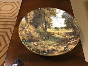 COALPORT THE CORNFIELD JOHN CONSTABLE Collectors Plate