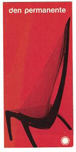 Den Permanente 1960's Scandinavian Design Store Copenhagen Brochure