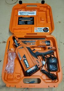 Paslode CF325XP Cordless XP 30 Degree Framing Nailer Charger Battery Case