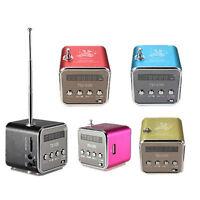 TD-V26 Style Mini Speaker Stereo Sound Music Player Wireless Radio Multi-color