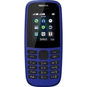 Nokia 105 2019 Téléphone portable double SIM bleu