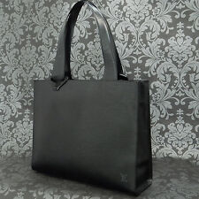 Rise-on LOUIS VUITTON EPI GEMEAUX Black Shoulder Bag Handbag Tote Bag #9
