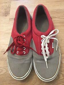 Vans Authentics Canvas Shoes Size 10.5