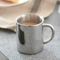 New Drinkware Tea Cup Travel Stainless Steel Portable Double Wall Coffee Mug