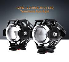 Yamaha LED Headlight Transform Spotlight Moto Headlamp High Brightness U5 2Pcs