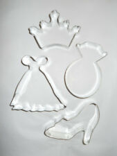 Dress A Princess Cookie Cutters, Set of 4 - Party, Wedding, Bridal Shower