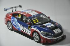 Ford Focus 2019 Racing car model in scale 1:18