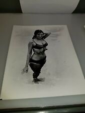 VINTAGE 8 X 10 PHOTOGRAPH FROM IRVING KLAWS ARCHIVES OF PHYLLIS DAVIS LOT #4