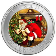 2012 Canada Santa's Secret 50 Cent Lenticular Coin