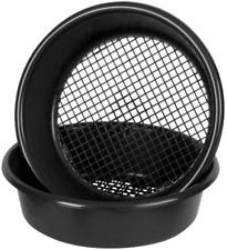 More details for wham large plastic round garden sieve riddle riddler soil sifter mesh black