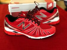 NIB New Balance Men's Lightweight Red Running Shoe Sneaker 10 D USA MR890RB