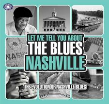 Let Me Tell You About The Blues-Nashville 3-CD NEW SEALED Cecil Gant/Ford Nelson