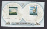 AD165) Australia 1999 Marco Polo Canada Joint Issue Minisheet MUH