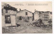 souain  quartier détruit parles allemands