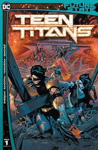 DC Comics Future State Teen Titans #1 (2021) 1st Red X Comic Appearance