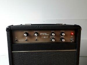 Fal C-40-T Guitar Combo Amplifer 1976 Vintage 12 inch speaker Titan Fane