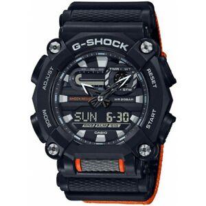 Casio Men Watch G-SHOCK GA-900C-1A4ER Sport Chronometer Illuminator Orange Band