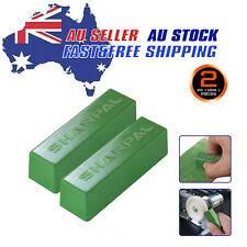 2X 4Oz.Buffing Green Polishing Stropping Compound Fine Leather Strop Sharpening