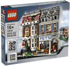 LEGO MODULAR BUILDINGS 10218 PET SHOP INVENTORIED COMPLETE