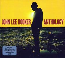 JOHN LEE HOOKER - ANTHOLOGY - 60 BLUES GREATS - BOOM BOOM (NEW SEALED 3CD)