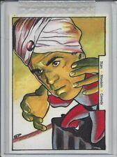 Classic Vintage Movie Posters SMC - Abbott & Costello Sketch Card by Sean Pence