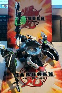 "Bakugan ""Dharak Colossus"" Darkus Dark Battle Brawler Smashtor Brawlacus Riptor🎁"