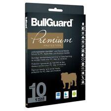 BullGuard Premium Protection 2017 Multiplatform, 10 Geräte - 1 Jahr, Deutsch, ES